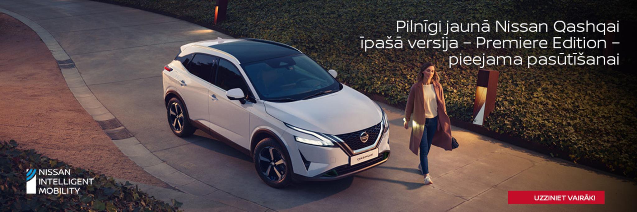 Pilnīgi jaunais Nissan Qashqai ir klāt!